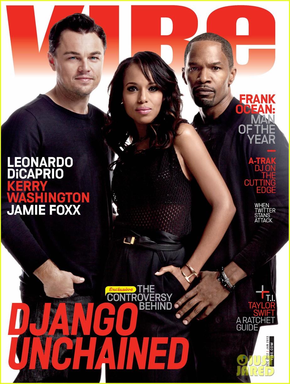 leonardo dicaprio kerry washington cover vibe december january issue 01