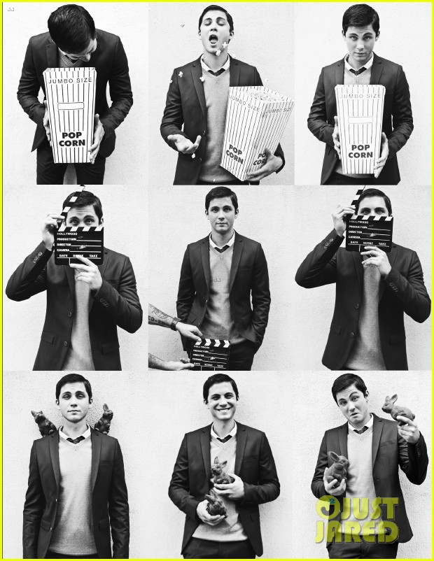 logan lerman covers visual ties magazine 03