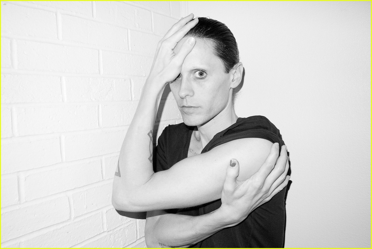 jared leto reveals weight loss shirtless for terry richardson 072765515