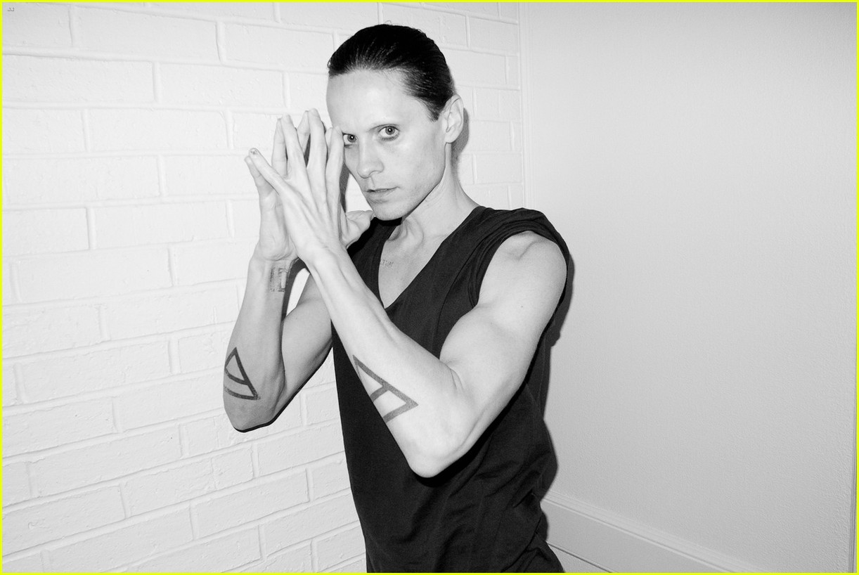 Jared Leto Reveals Weight Loss Shirtless for Terry ... Jared Leto Terry Richardson 2012