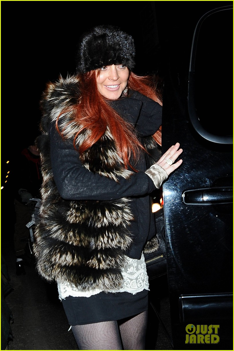 lindsay aliana lohan night out in new york city 02