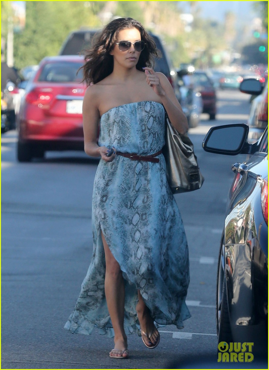 eva longoria leggy lunch in sherman oaks 072751576