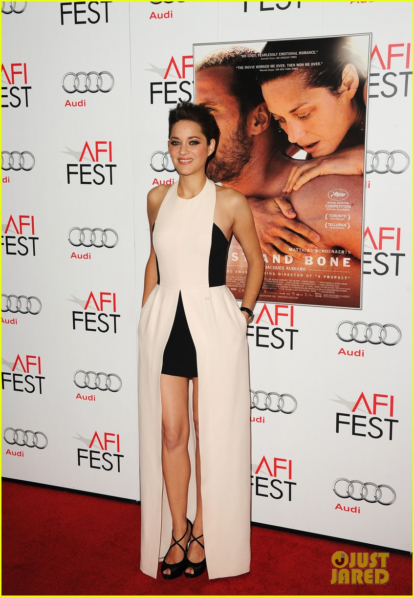 marion cotillard rust and bone afi fest premiere 01