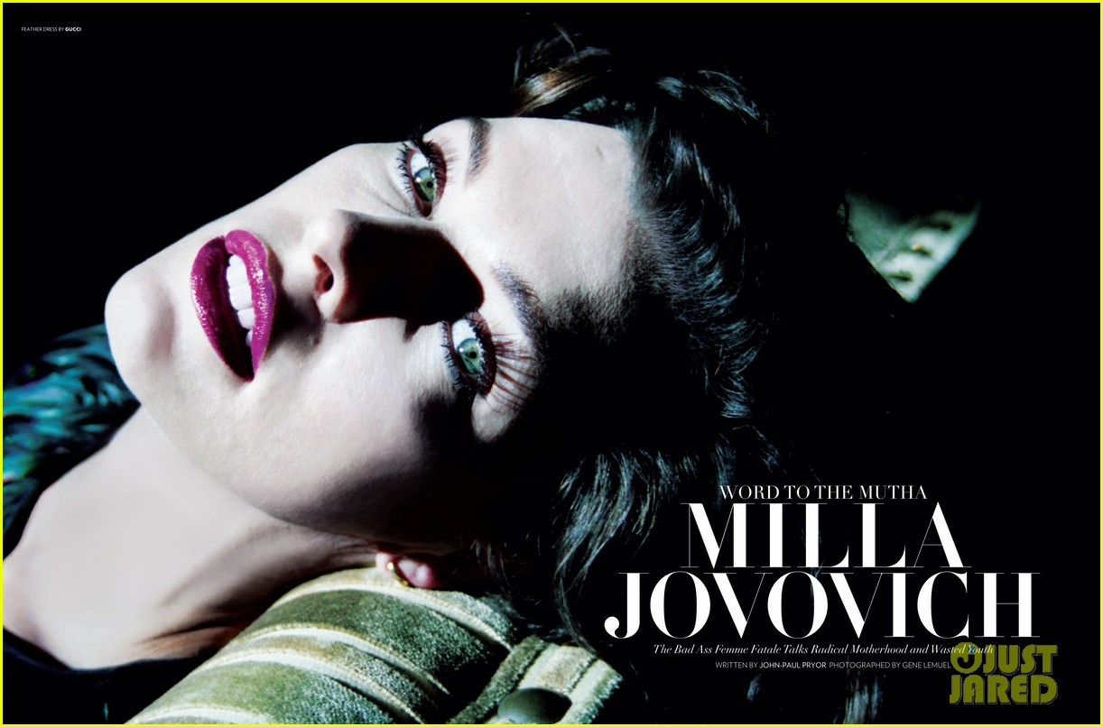 milla jovovich flaunt magazine feature 01