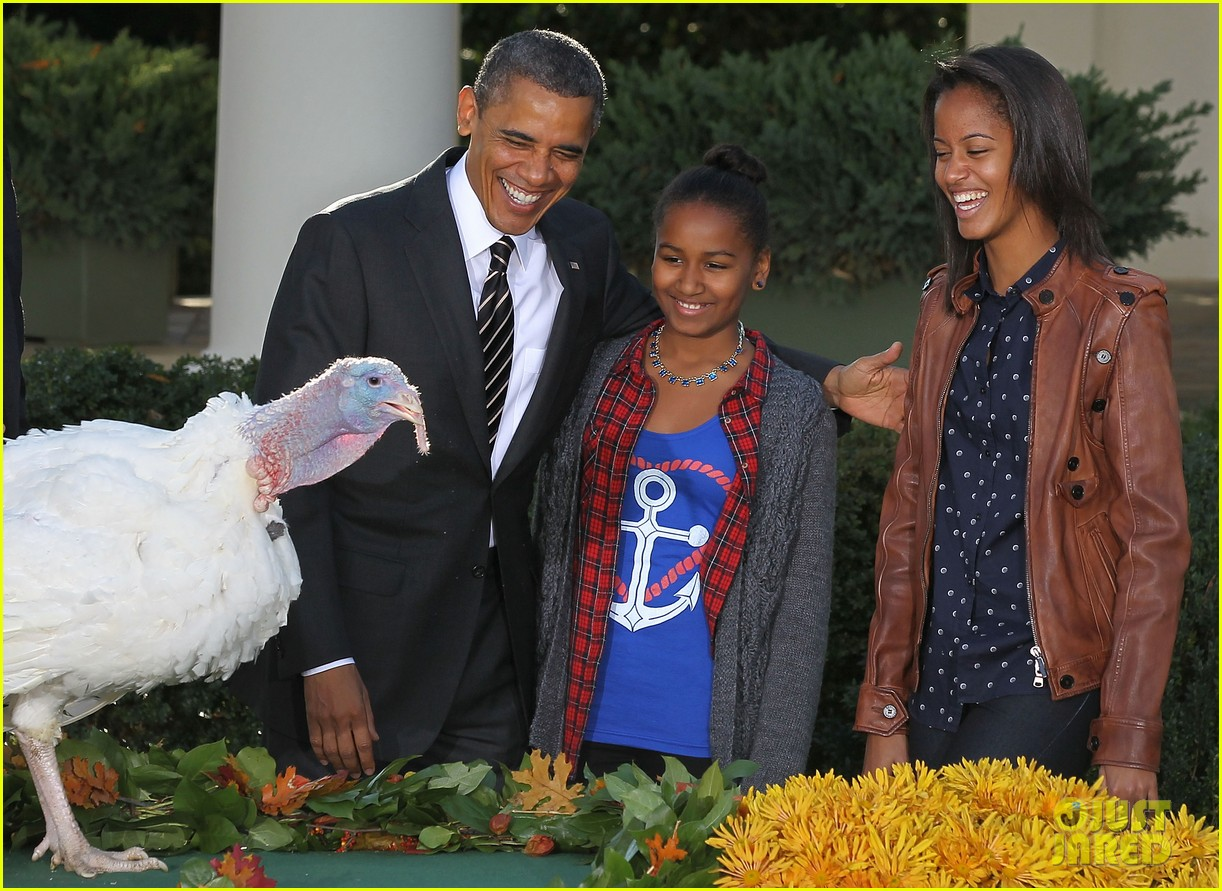 president obama kids pardon thanksgiving turkey 05