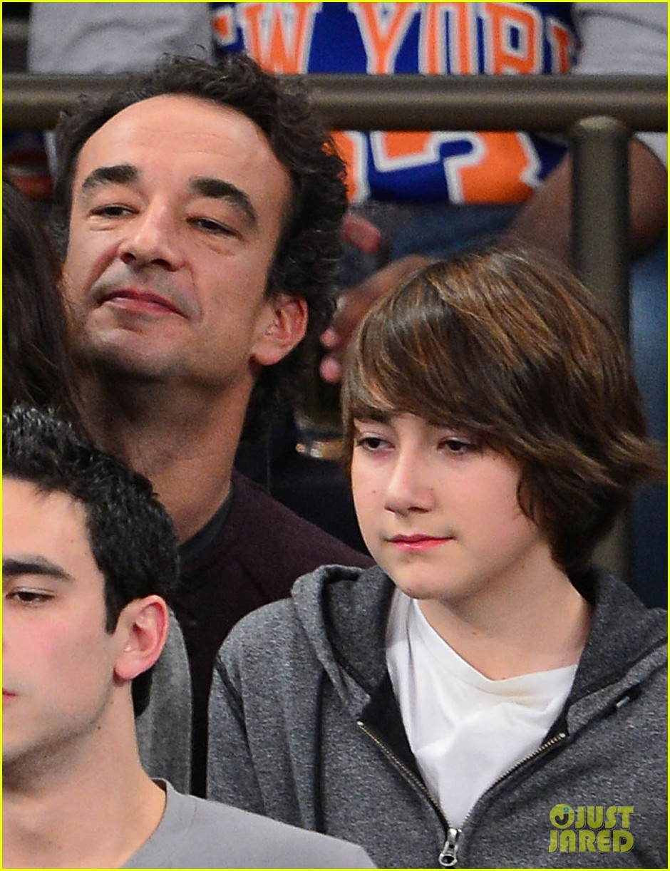 mary kate olsen knicks game with olivier sarkozy kids 02