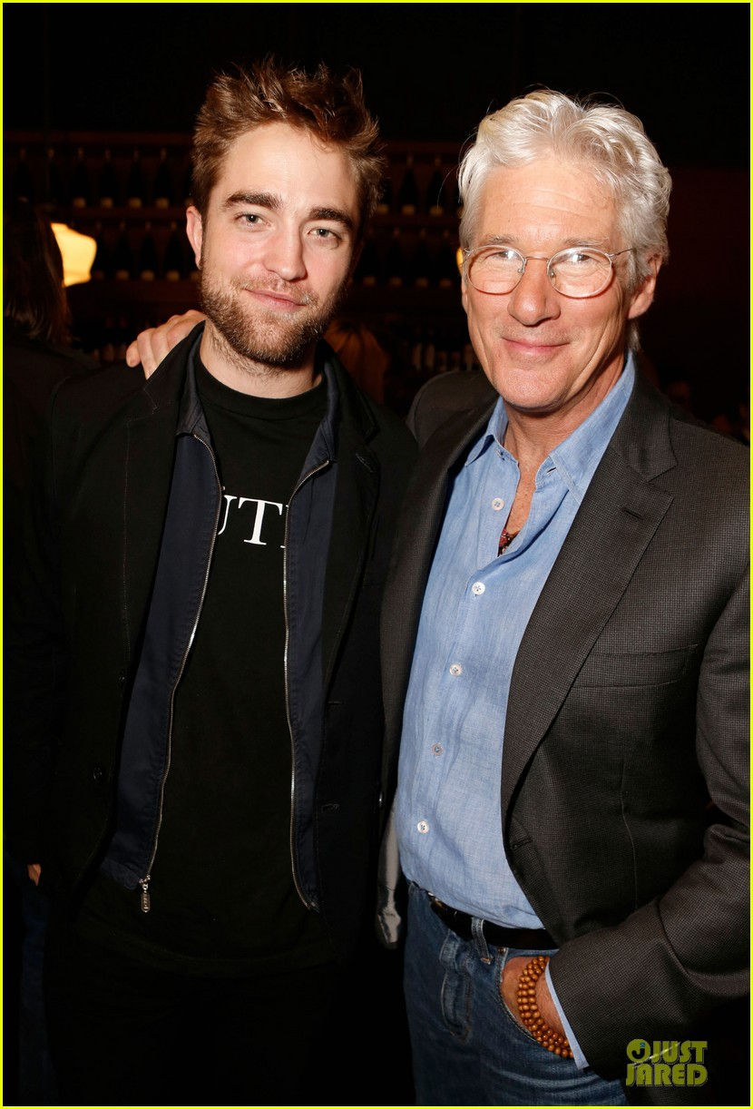 robert pattinson arbitrage luncheon with richard gere 01