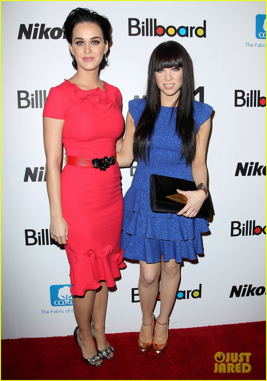 katy perry carly rae jepsen billboard women in music luncheon 07