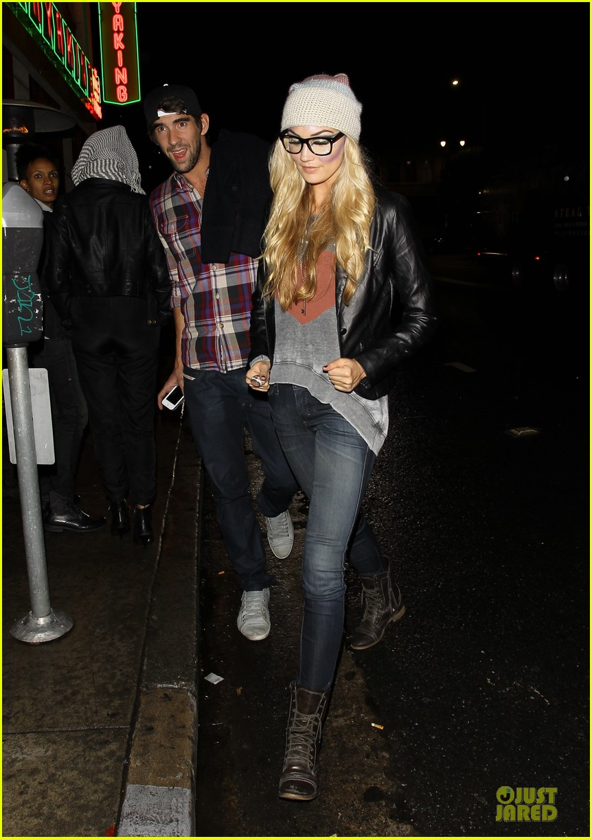 michael phelps megan rossee sayers club date 082759491