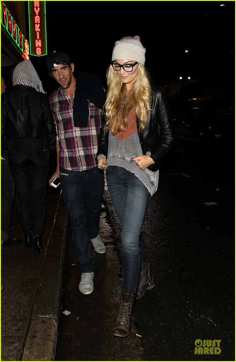michael phelps megan rossee sayers club date 14