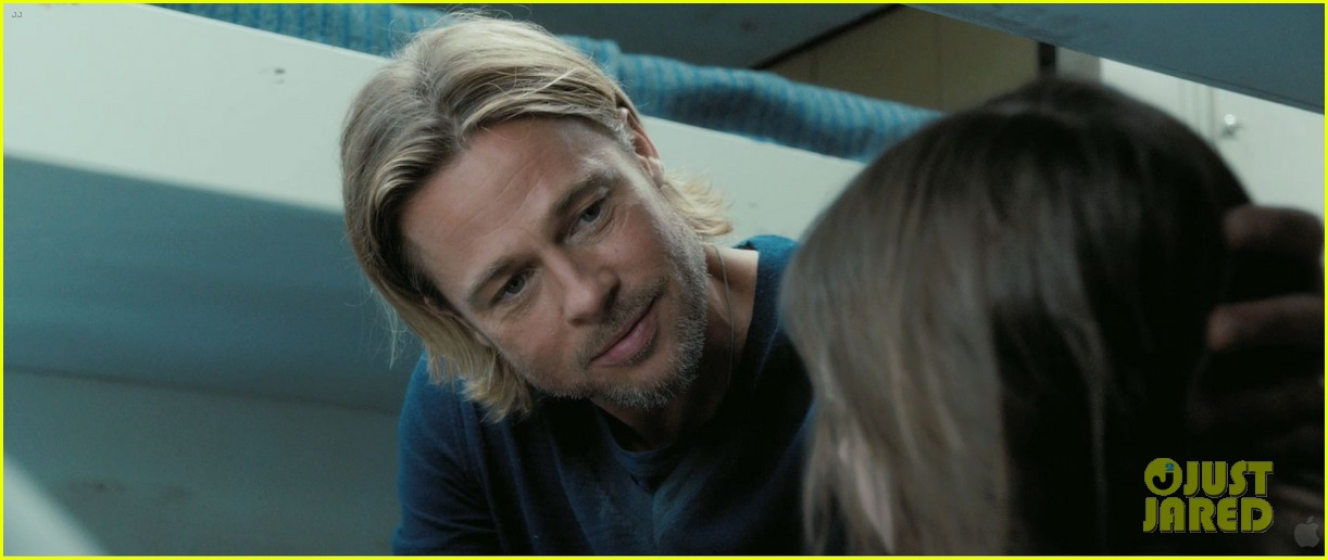 Pictures of Brad Pitt in World War z Brad Pitt World War z Trailer