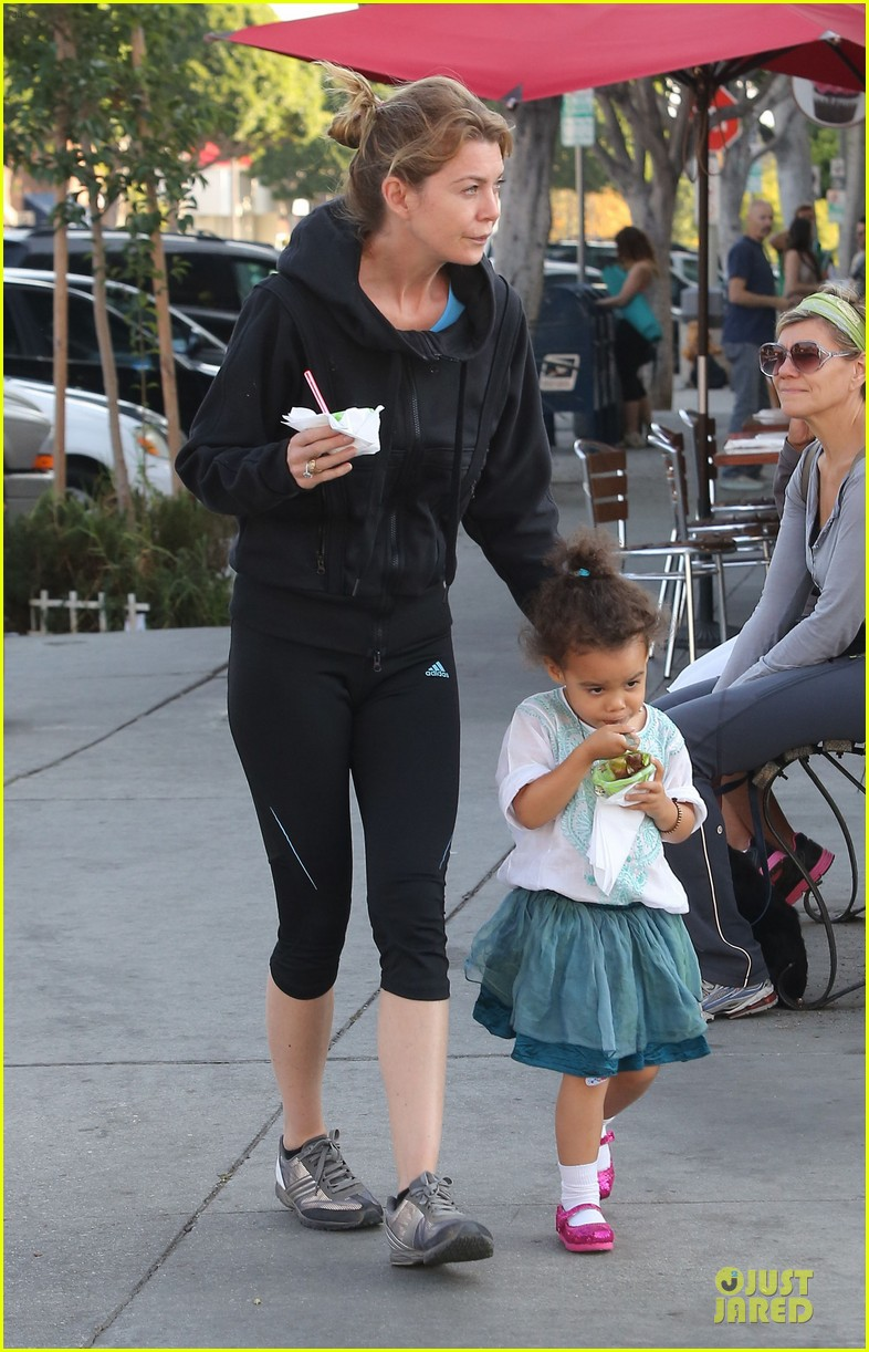 ellen pompeo stella ice cream duo 01