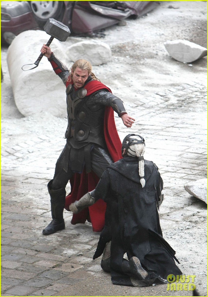 natalie portman thor the dark world set 03