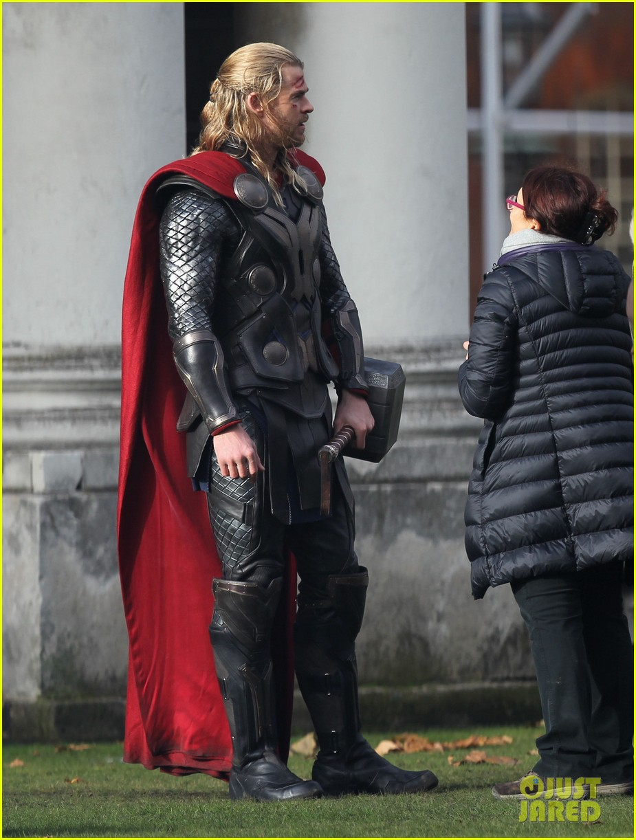 natalie portman thor the dark world set 06
