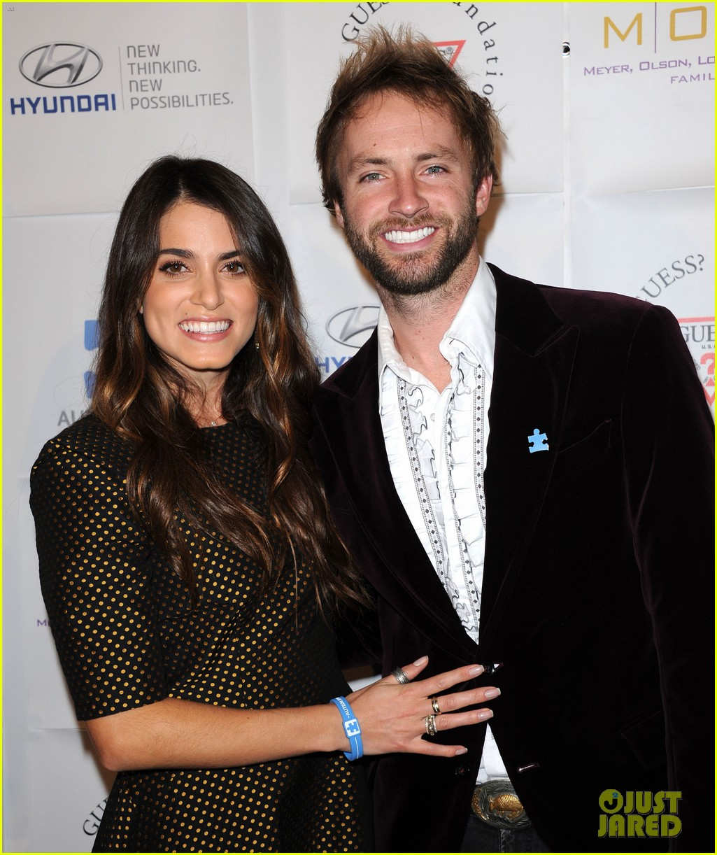 nikki reed paul mcdonald autism speaks ball 08