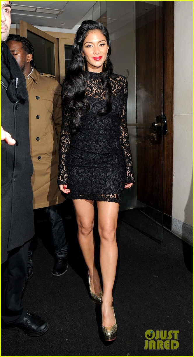 nicole scherzinger nobu night out 01