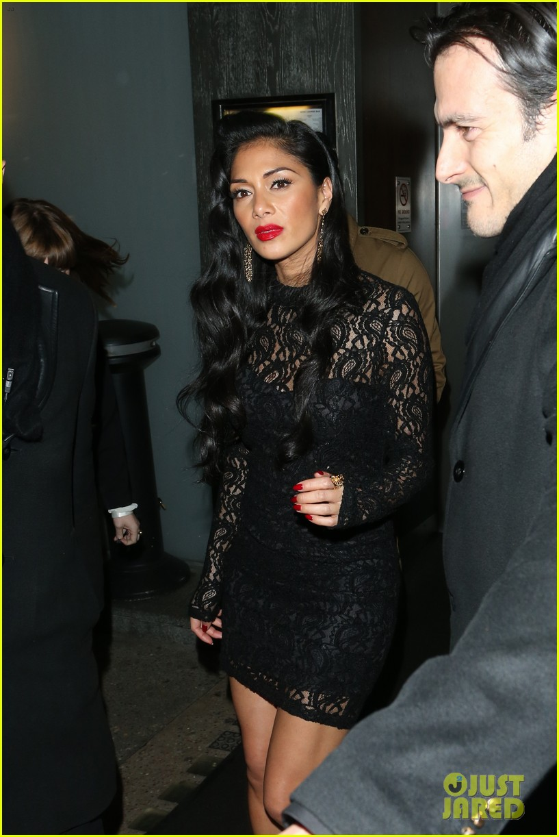 nicole scherzinger nobu night out 02