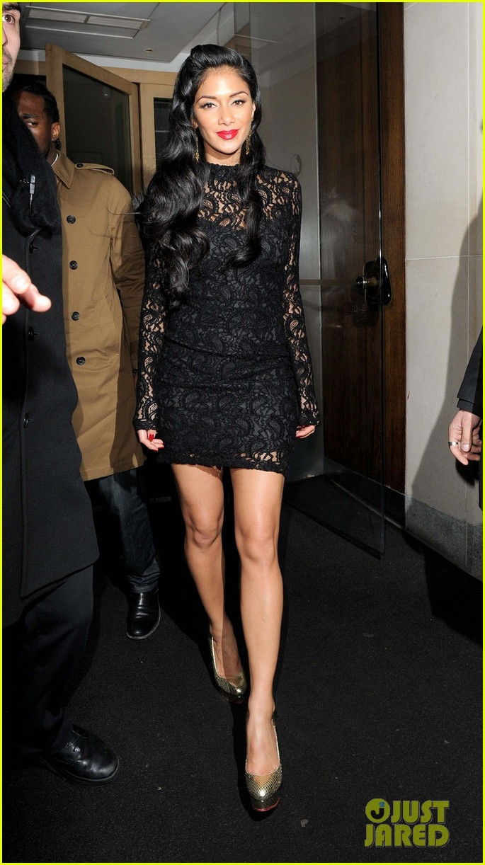nicole scherzinger nobu night out 06