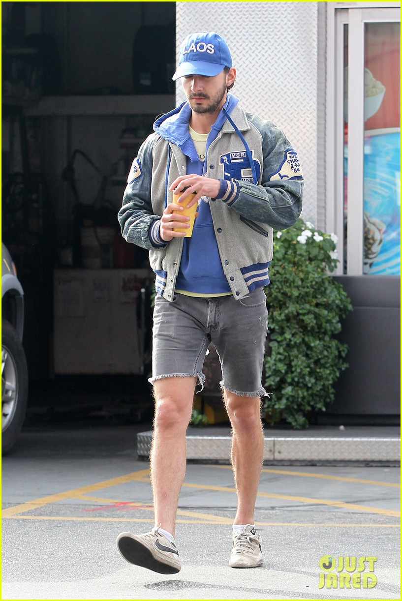 shia labeouf cutoff short shorts in hollywood 09