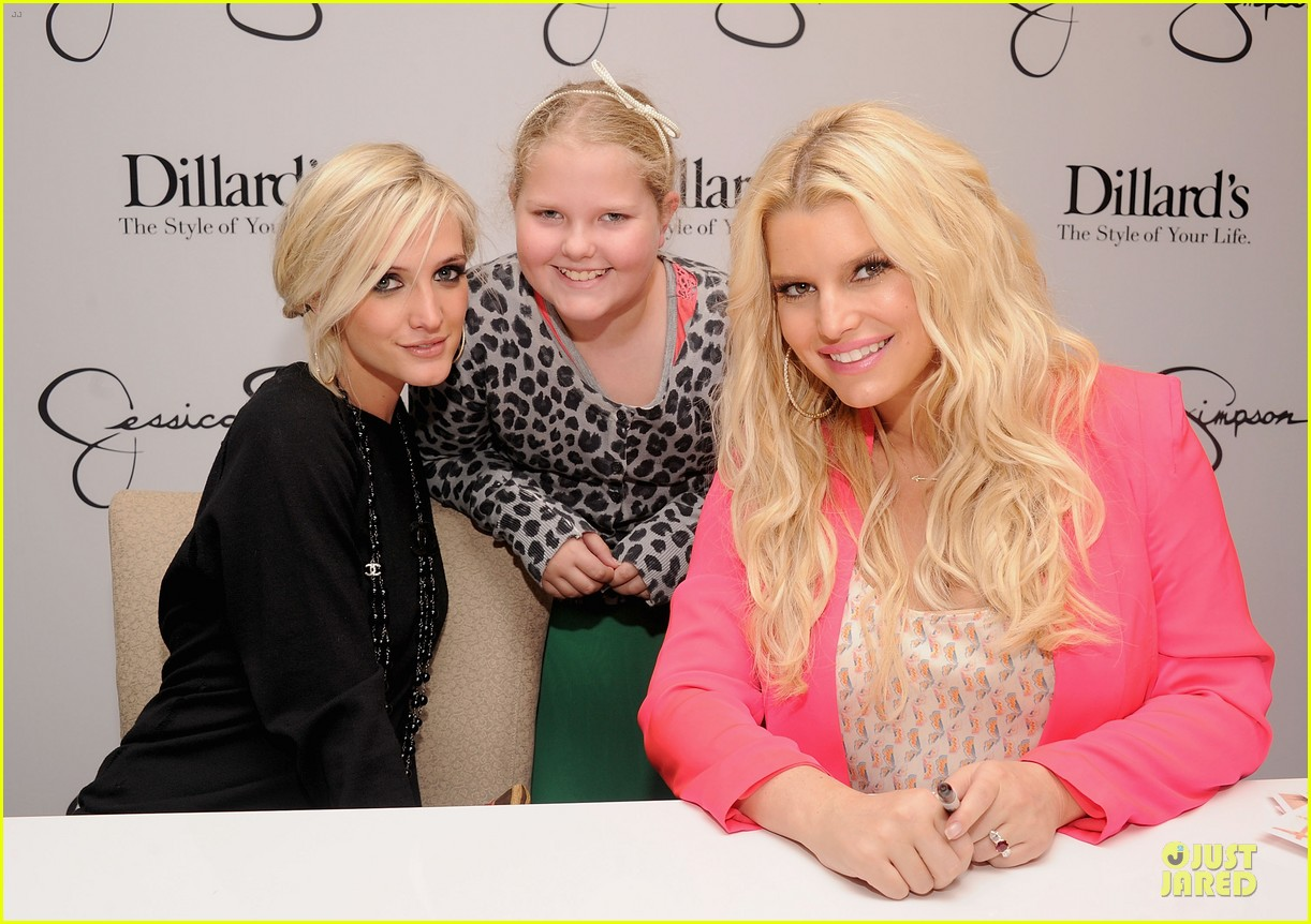 jessica simpson ashlee simpson jessica simpson collection promotion in florida 11
