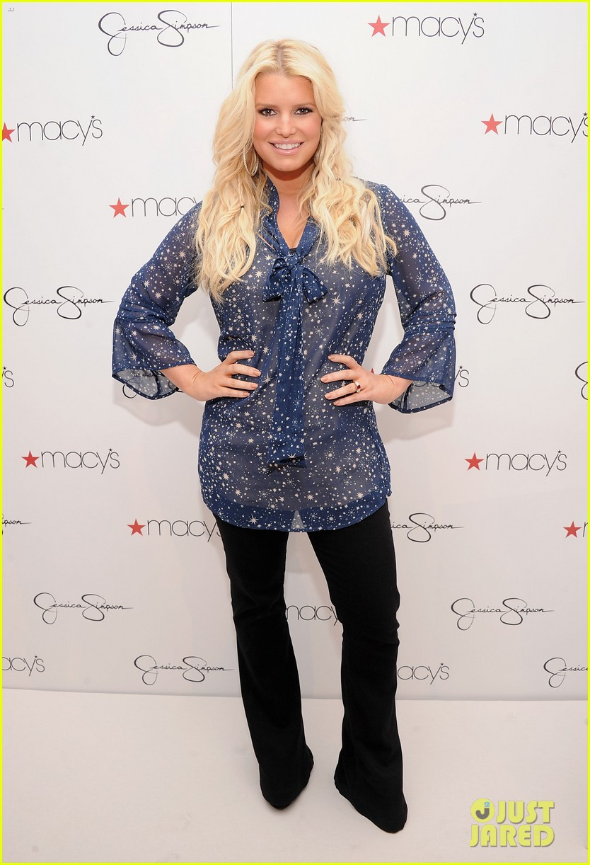 jessica simpson macys collection launch with ashlee 01