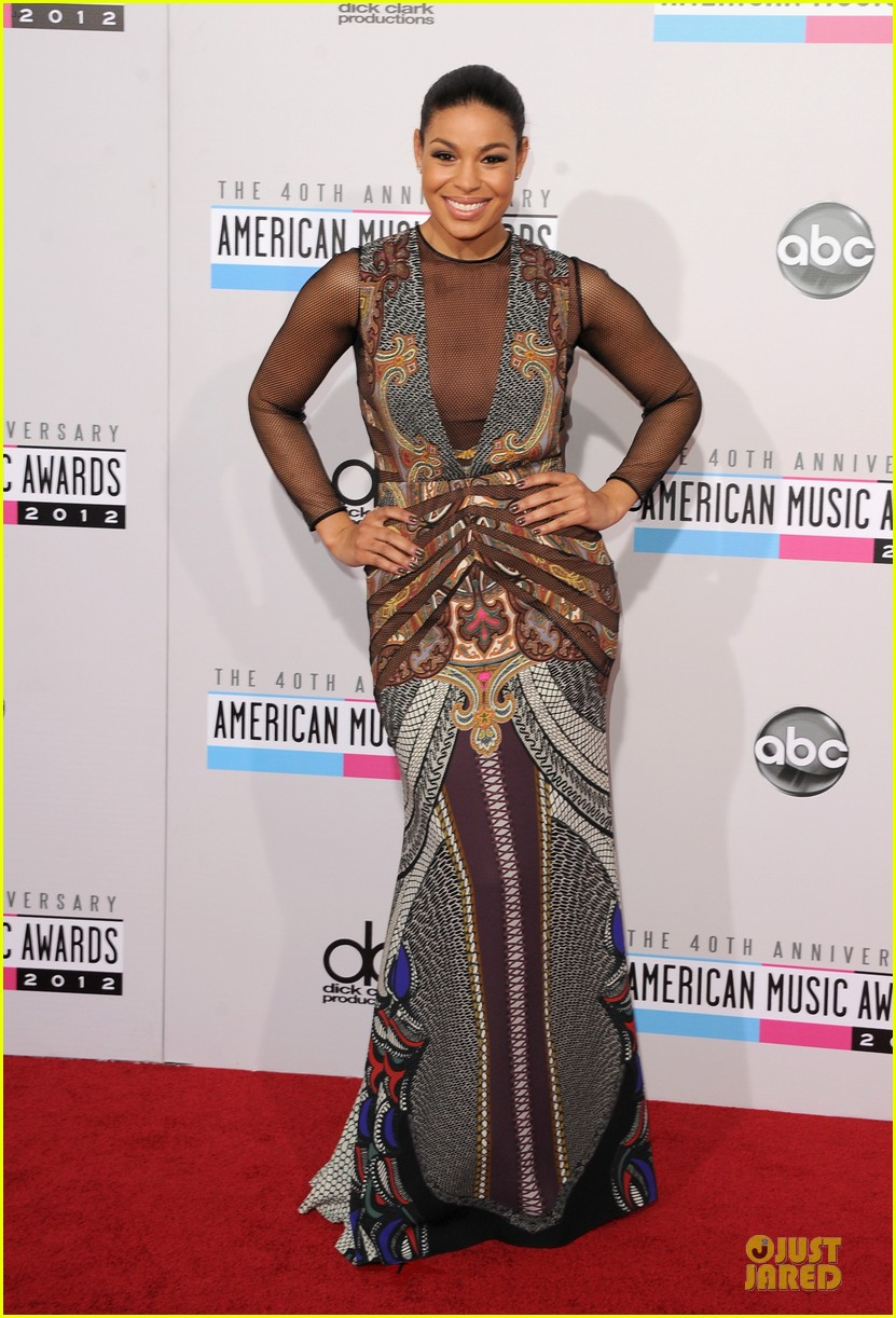 jordin sparks jason derulo ama 2012 red carpet 032760154
