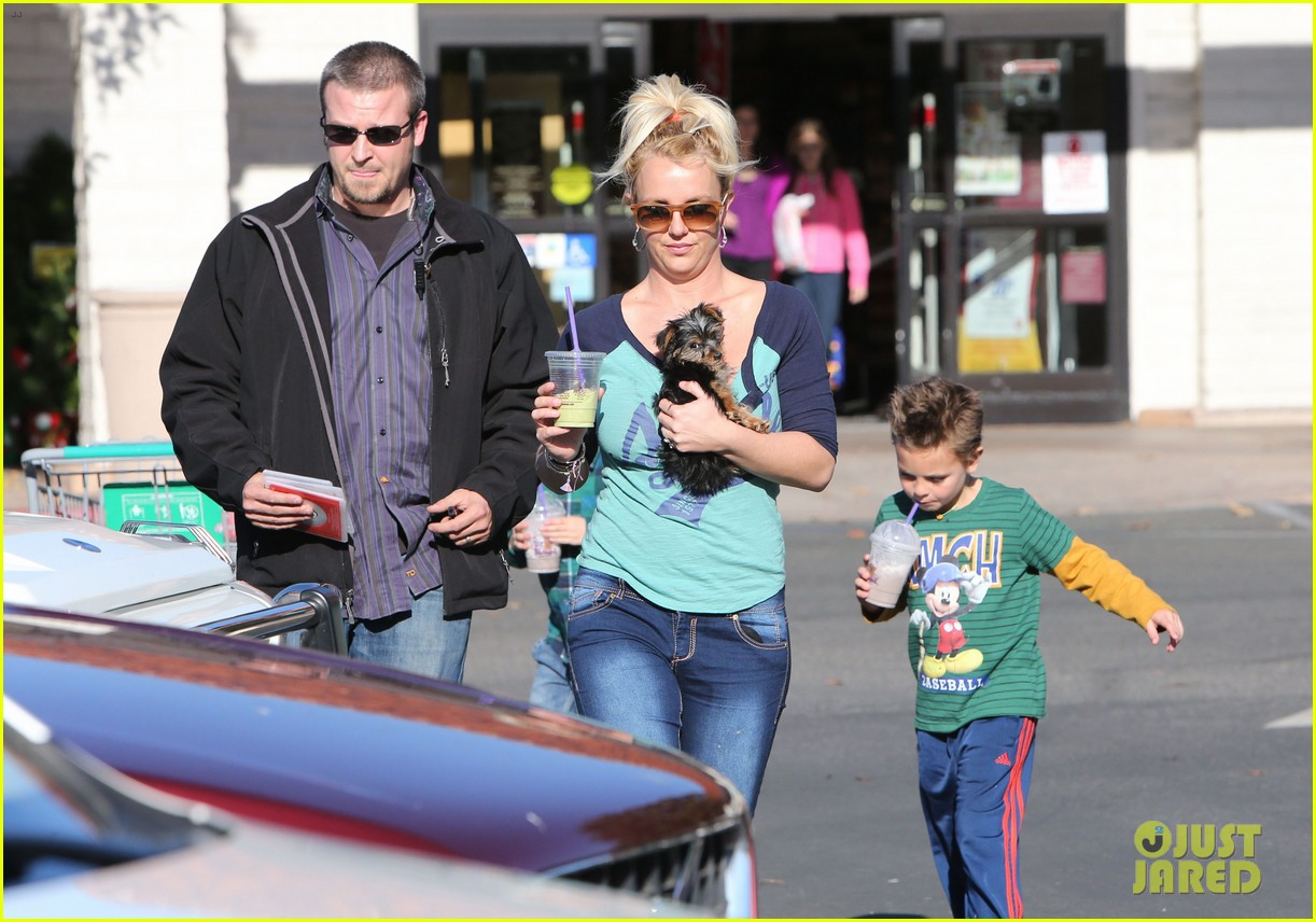 britney spears coffee bean with sean preston jayden james 30