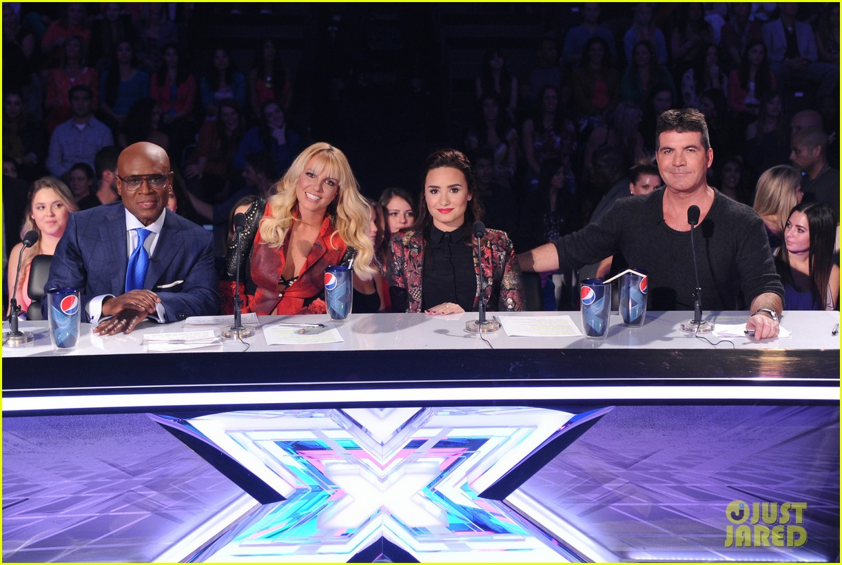 britney spears demi lovato x factor top 16 recap 012754014