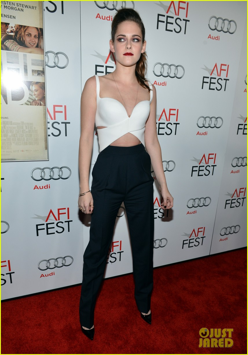 kristen stewart on the road afi screening 172750721