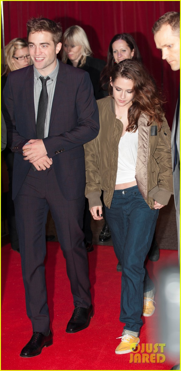 kristen stewart dresses down for uk premiere departure 01