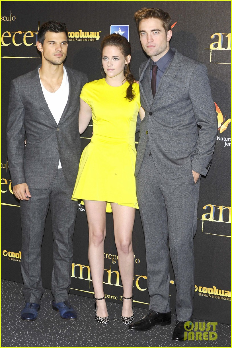 kristen stewart robert pattinson breaking dawn madrid premiere 07