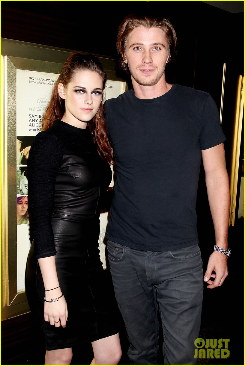 kristen stewart garrett hedlund on the road nyc screening 132753800