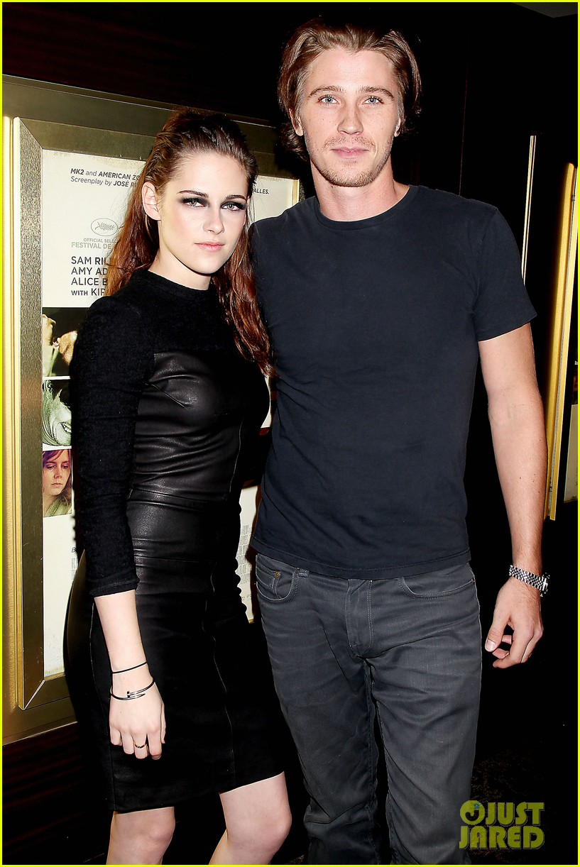 kristen stewart garrett hedlund on the road nyc screening 142753801