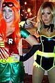 ashley tisdale batman for halloween 04