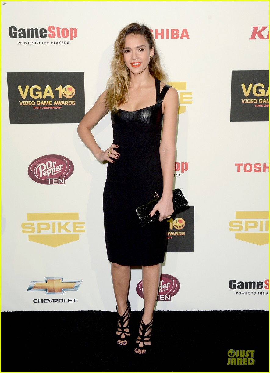 jessica alba spike tv video game awards 10