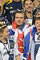 david beckham celebrates final galaxy win with his sons 24