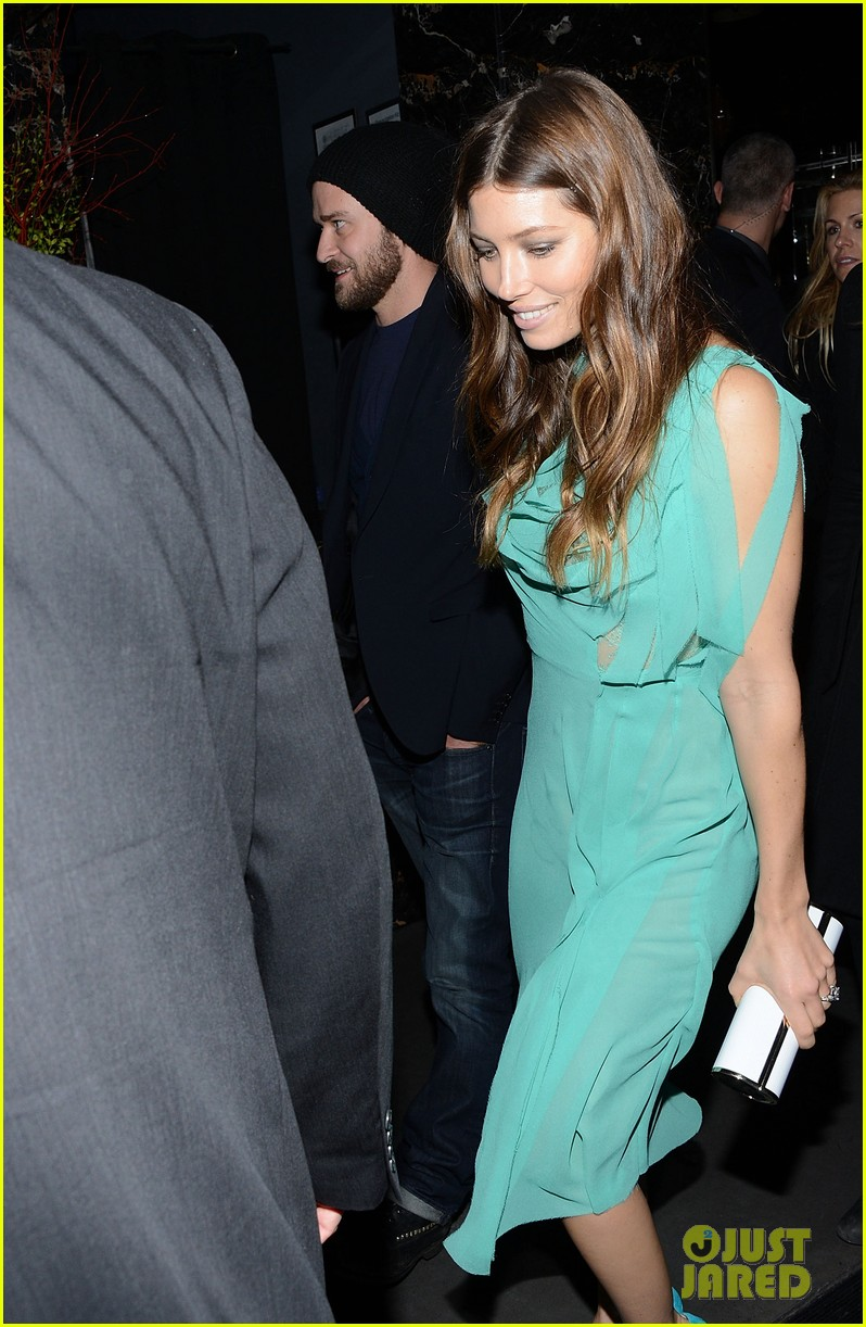 jessica biel justin timberlake playing for keeps premiere after party 07