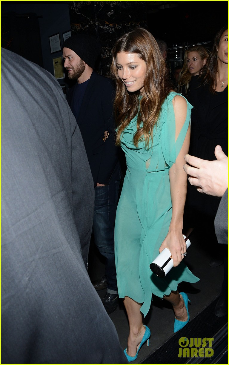 jessica biel justin timberlake playing for keeps premiere after party 08