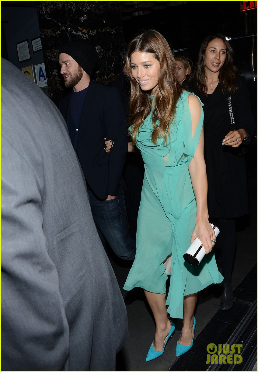 jessica biel justin timberlake playing for keeps premiere after party 09