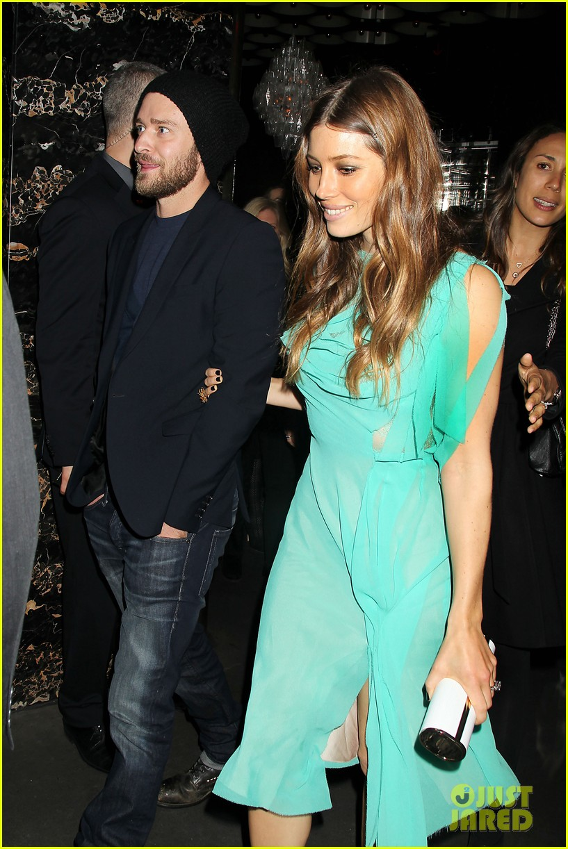 jessica biel justin timberlake playing for keeps premiere after party 15