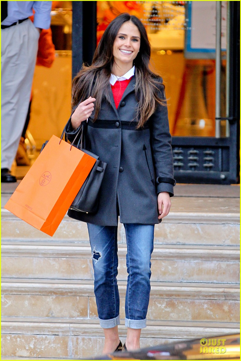 jordana brewster holiday shopping at barneys new york 01