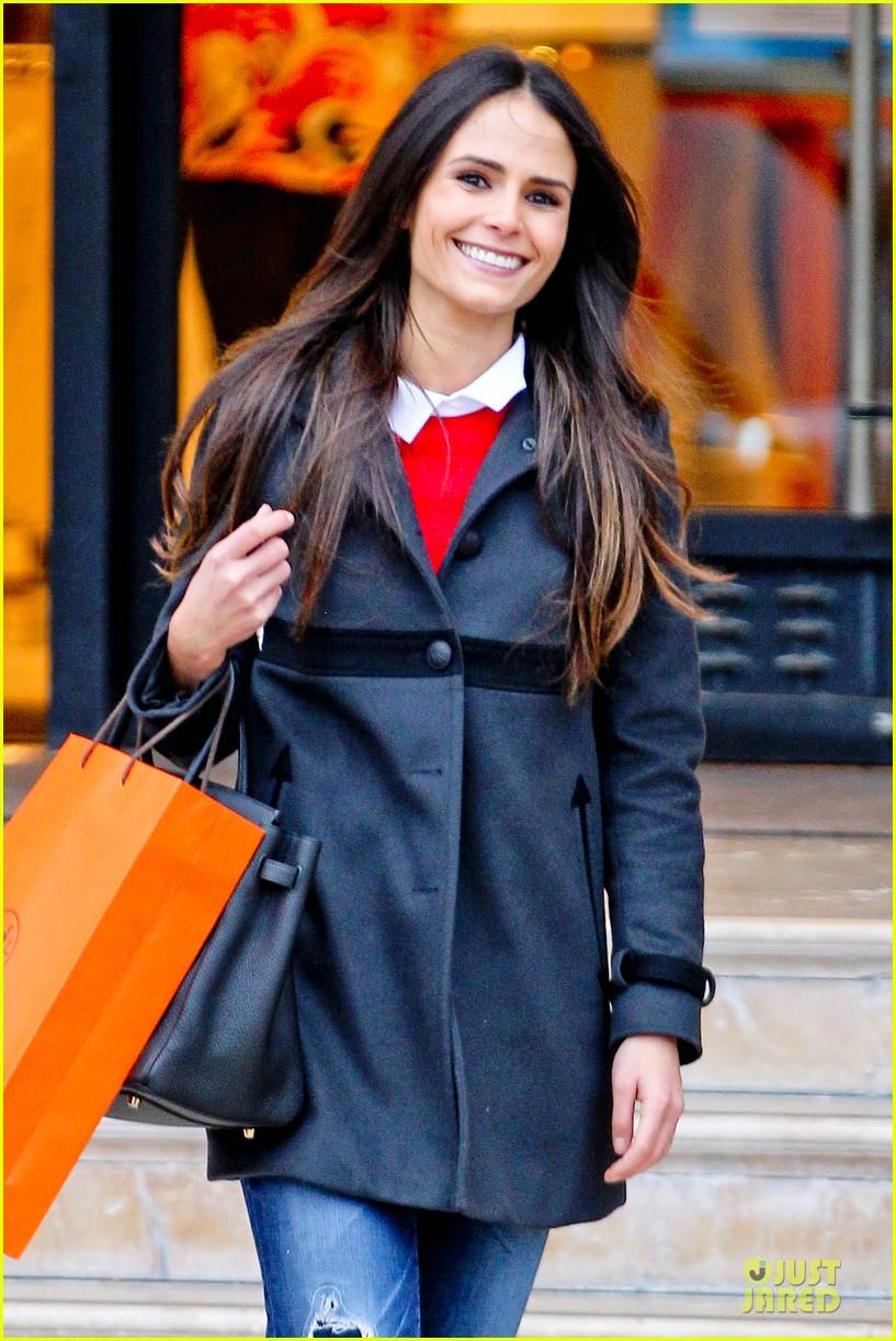jordana brewster holiday shopping at barneys new york 102776507
