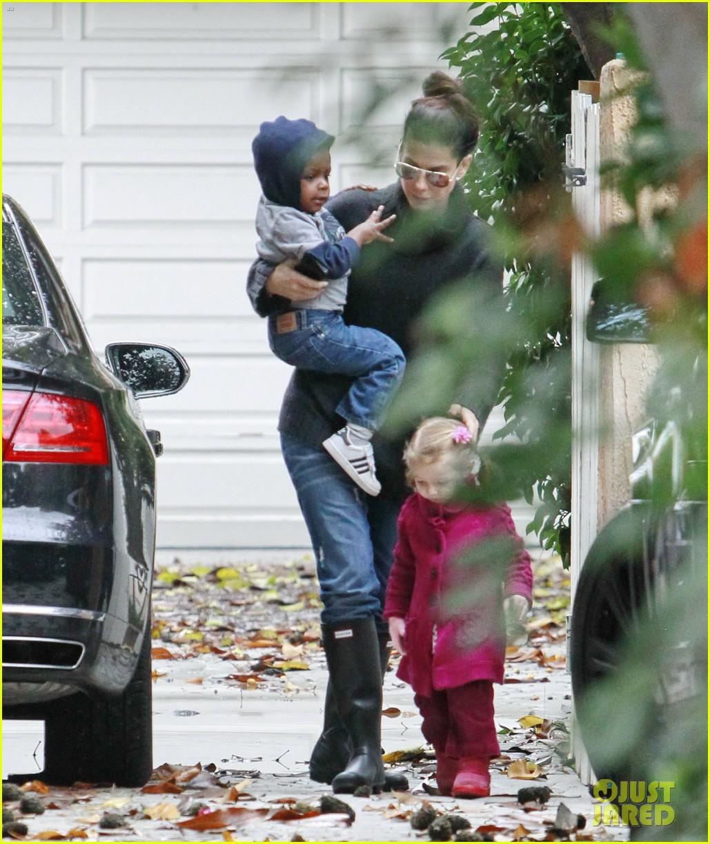 sanda bullock rainy day baby louis 062768010