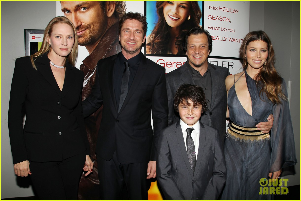 gerard butler jessica biel playing for keeps premiere 352769905
