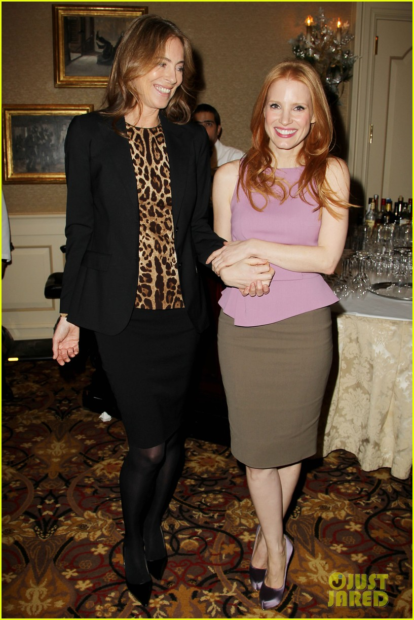 jessica chastain zero dark thirty celebration lunch 13