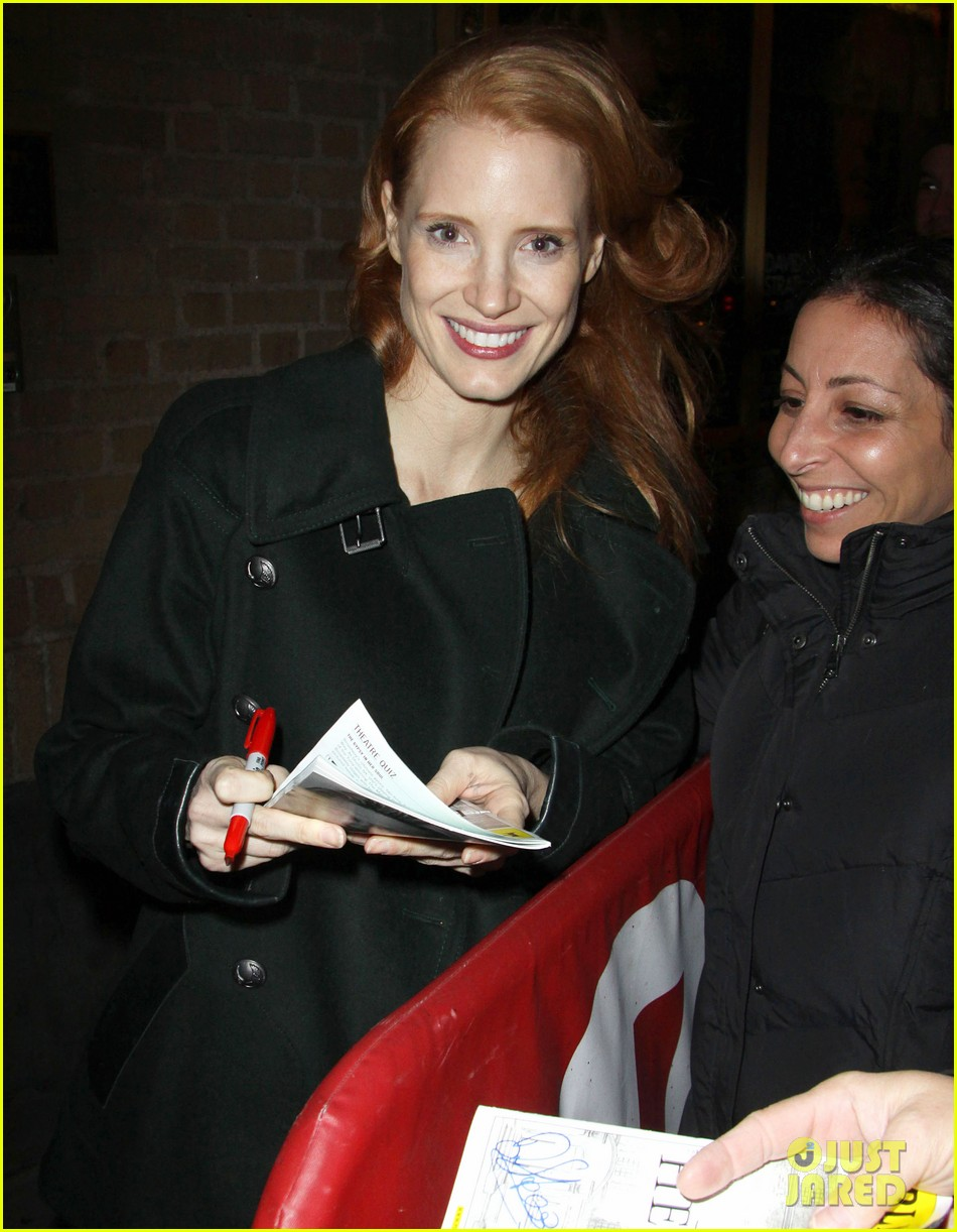 jessica chastain zero dark thirty celebration lunch 40