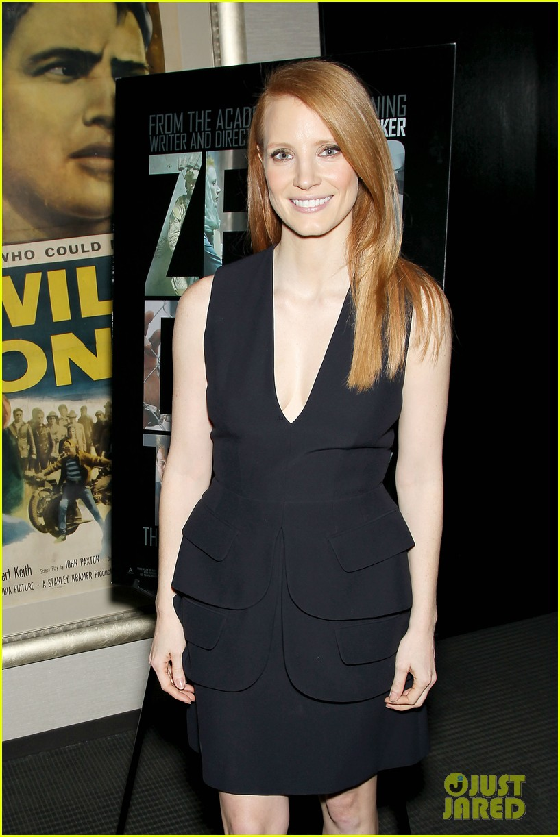 jessica chastain zero dark thirty screening with al pacino 16