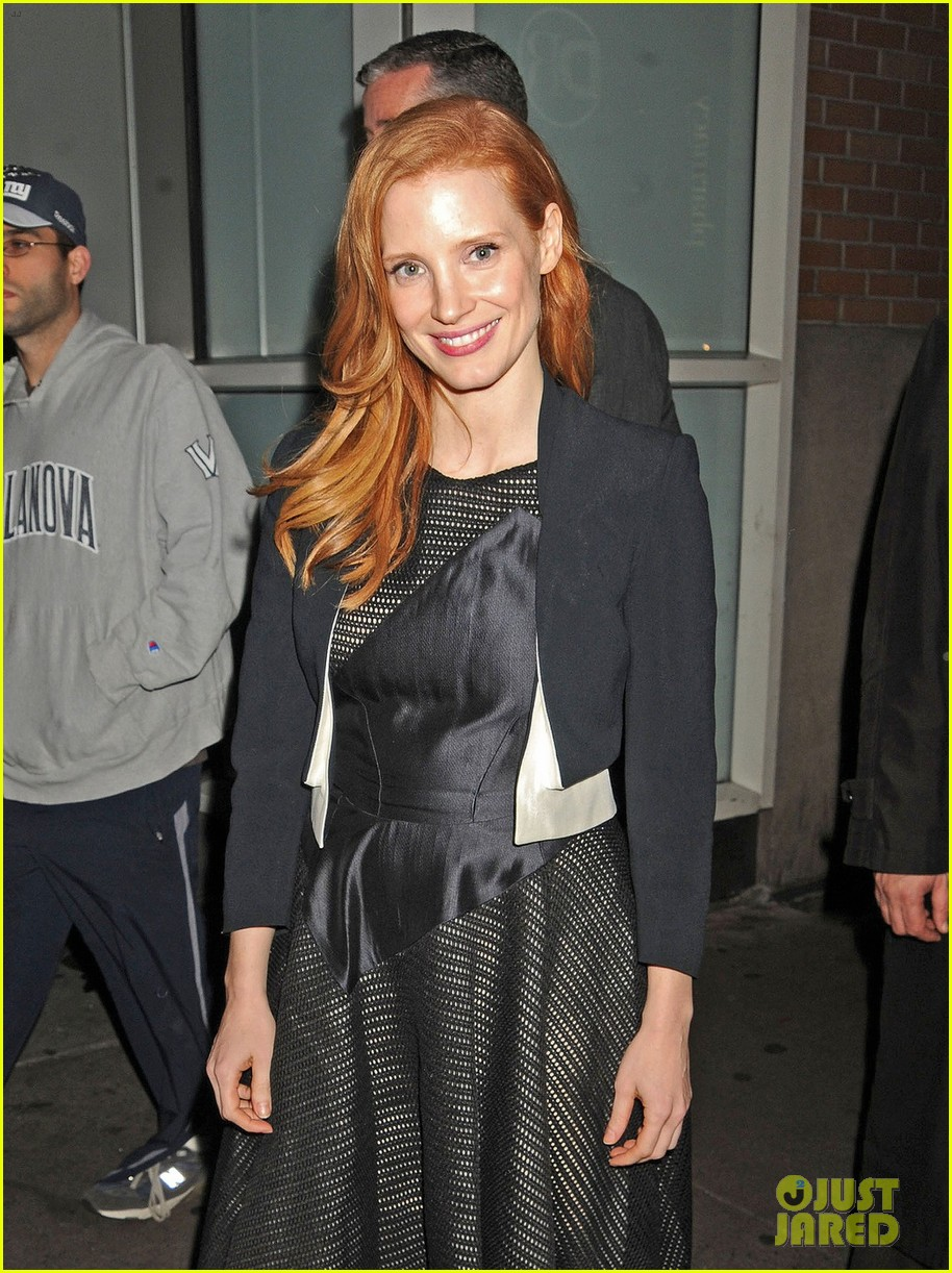 jessica chastain zero dark thirty promo in new york 042769023