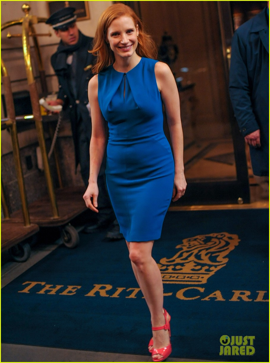 jessica chastain zero dark thirty promo in new york 052769024
