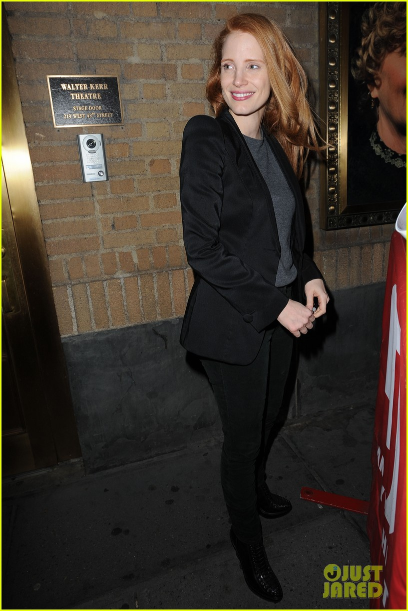 jessica chastain windswept at the heiress 072778731